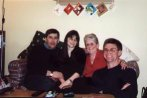 Barry, Karen, Sybil and Marcus. New Year 2001