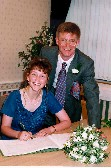 Our wedding day, 19th Sep 1997